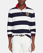 90ec732178 Polo Ralph Lauren Men's Classic-Fit Striped Rugby Shirt