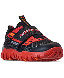 Skechers Little Boys' Power Strap: Pulverizer Training Sneakers from Finish Line
