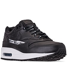 cheap for discount 1fbb6 f8fdb Nike Womens Air Max 1 SE Running Sneakers from Finish Line