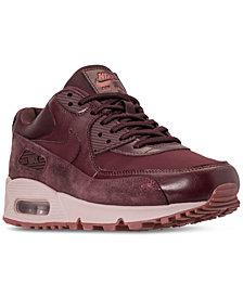 Nike Women's Air Max 90 Premium Casual Sneakers from Finish Line