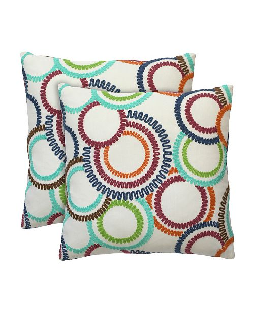 Colorfly Jude Decorative Pillow Pair