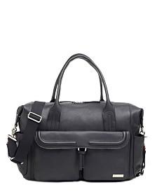 Storksak Charlotte Leather Diaper Bag