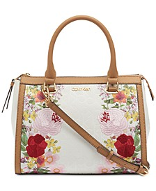 Mercy Signature Floral Satchel