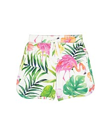 Masala Baby Swim Shorts Flamingo Island, 18-24M