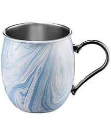 Thirstystone Blue Marble Moscow Mule Mug