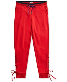 Tommy Hilfiger Adaptive Women's Aloha Lace-Up Pants