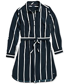Tommy Hilfiger Adaptive Women's Emma Soft Shirtdress with Magnetic Closures