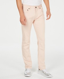 I.N.C. Men's Slim-Straight Fit Stretch Jeans, Created for Macy's