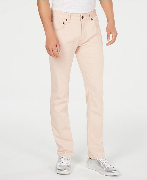 INC International Concepts I.N.C. Men's Slim-Straight Fit Stretch Jeans, Created for Macy's