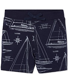a8676d59c7f7 Polo Ralph Lauren Baby Boys Sailboat-Print Cotton Pull-On Shorts