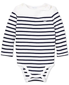 Polo Ralph Lauren Baby Boys Striped Cotton Bodysuit