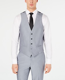 Ryan Seacrest Distinction™ Men's Slim-Fit Stretch Tuxedo Suit Vest, Created for Macy's