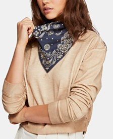 Free People James Cotton Bandana Top