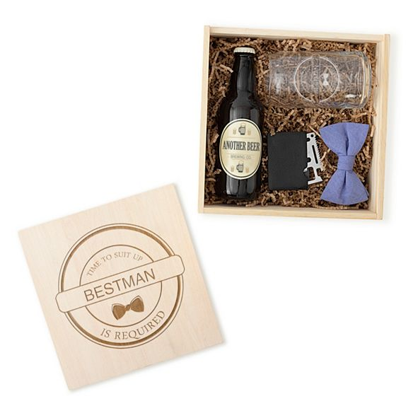 Cathy's Concepts Best Man Craft Beer Gift Box Set