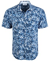 3e1e6c123 Greg Norman Men s Oakhill Floral Graphic Shirt