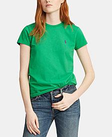 Polo Ralph Lauren Embroidered Cotton T-Shirt