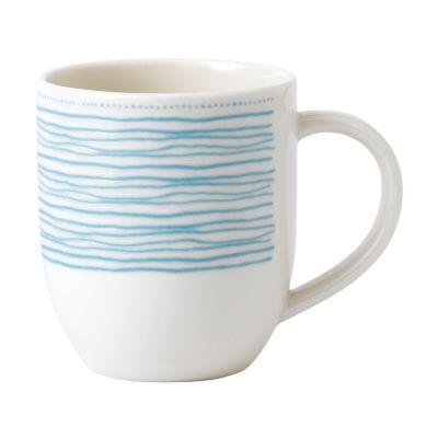 Crafted by Royal Doulton Polar Blue Dots Mug