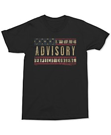 Parental Advisory Men's Graphic T-Shirt