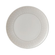 Crafted by Royal Doulton Taupe Stripe Side Plate