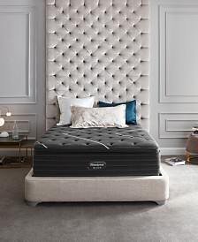 "Beautyrest Black K-Class 18"" Ultra Plush Pillow Top Mattress Set- Queen Split"