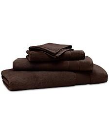 """Lauren Ralph Lauren Sanders  Antimicrobial Cotton Solid 13"""" x 13"""" Wash Towel"""