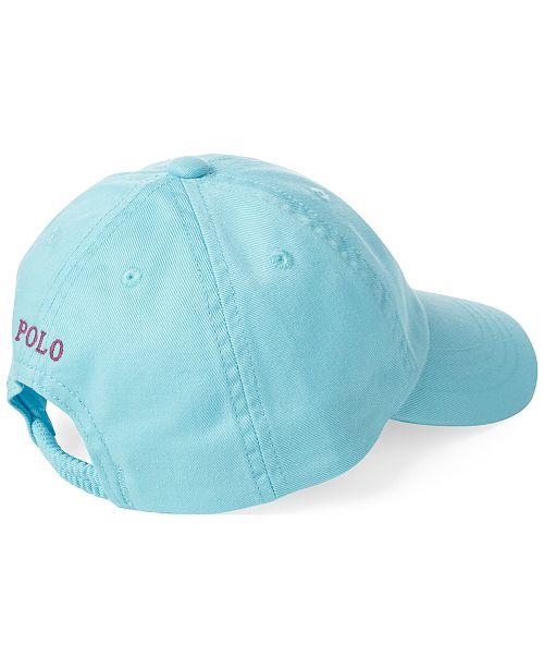 Polo Ralph Lauren Baby Boys Cotton Chino Baseball Cap - All Kids ... 0ed7d8b6eccf