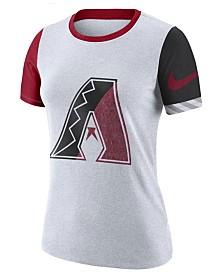 Nike Women's Arizona Diamondbacks Slub Logo Crew T-Shirt