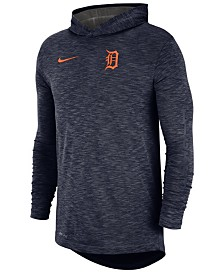 Nike Men's Detroit Tigers Dry Slub Hooded T-Shirt