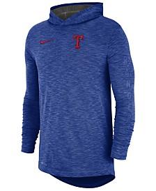 Nike Men's Texas Rangers Dry Slub Hooded T-Shirt
