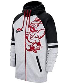 Men's Cincinnati Reds Walkoff Full-Zip Hoodie