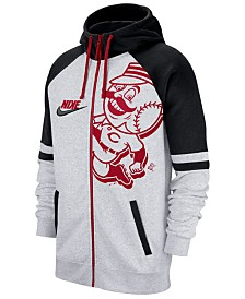 Nike Men's Cincinnati Reds Walkoff Full-Zip Hoodie