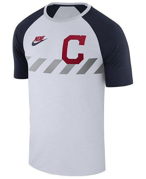 Nike Men's Cleveland Indians Walkoff Raglan T-Shirt