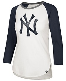 '47 Brand Women's New York Yankees Splitter Raglan T-Shirt