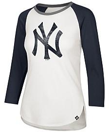'47 Brand Women's New York Yankees Splitter Raglan T-Shirt