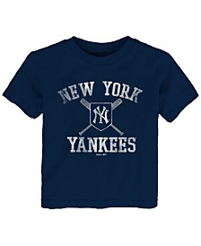 Outerstuff Baby New York Yankees Crossed Bats T-Shirt
