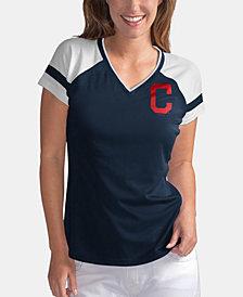 G-III Sports Women's Cleveland Indians Biggest Fan T-Shirt