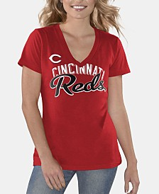G-III Sports Women's Cincinnati Reds Finals T-Shirt