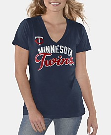 G-III Sports Women's Minnesota Twins Finals T-Shirt