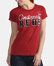 G-III Sports Women's Cincinnati Reds Homeplate T-Shirt