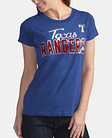 G-III Sports Women's Texas Rangers Homeplate T-Shirt