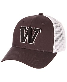 Zephyr Washington Huskies Big Rig Trucker Snapback Cap