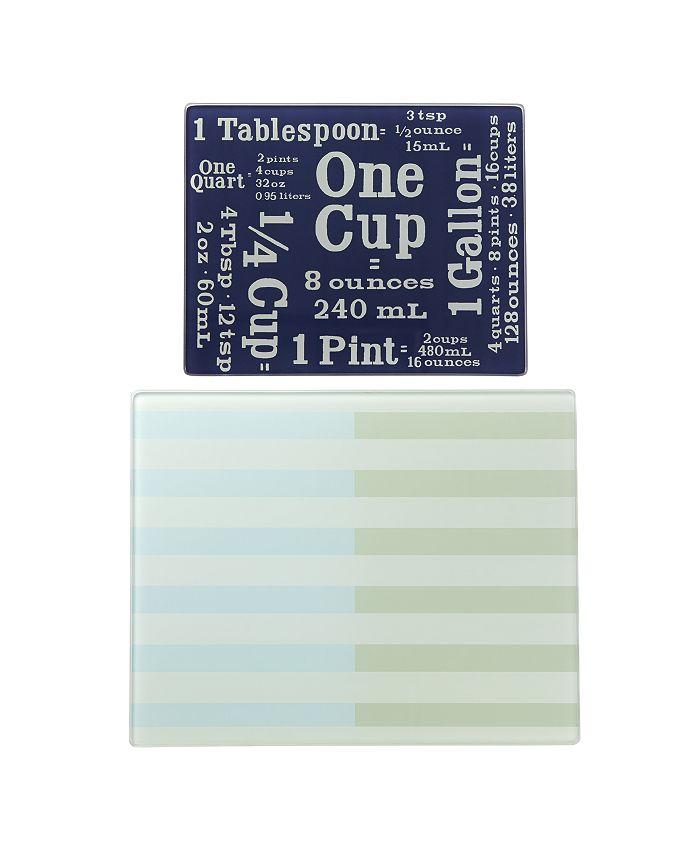 Kate Spade - Glass Prep Board, Set of 2