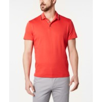 Deals on Alfani Men's Classic Fit Tipped Polo