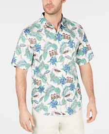 Tommy Bahama Men's Cabana Club Hawaiian Shirt