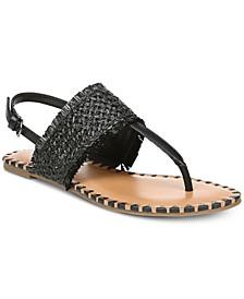 Jayne Slingback Flat Sandals