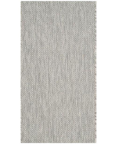"Safavieh Courtyard Gray 2' x 3'7"" Sisal Weave Area Rug"
