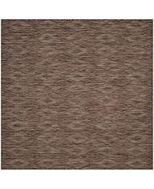 "Safavieh Courtyard Brown 6'7"" x 6'7"" Sisal Weave Square Area Rug"