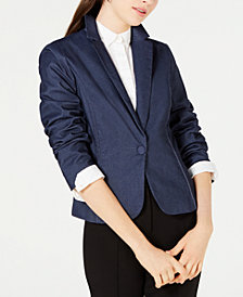 XOXO Juniors' One-Button Blazer