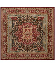"Safavieh Mahal Red 6'7"" x 6'7"" Square Area Rug"
