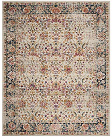 Madison Cream and Navy 9' x 12' Area Rug